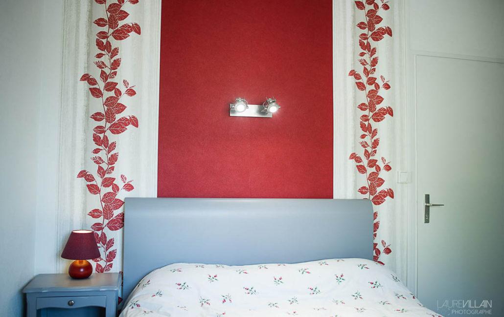 Graines de couleurs - Chambre Décoration rouge - 1