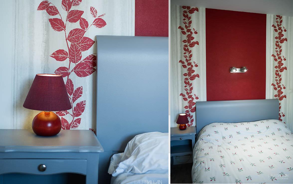 Graines de couleurs - Chambre Décoration rouge - 2
