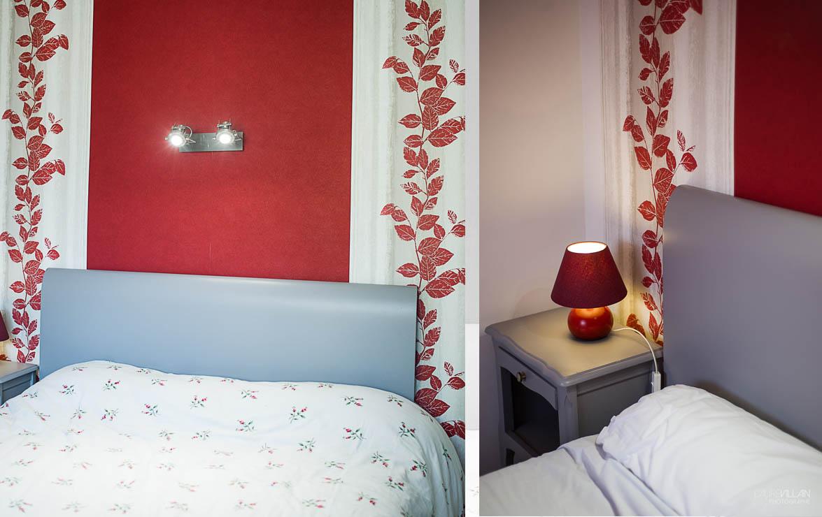 Graines de couleurs - Chambre Décoration rouge - 3