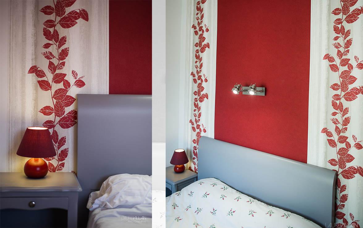 Graines de couleurs - Chambre Décoration rouge - 4