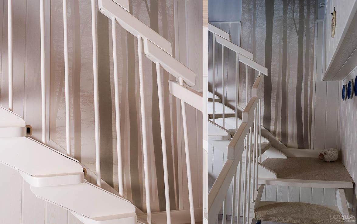 Graines de couleurs - Réalisation de l'ecalier 2