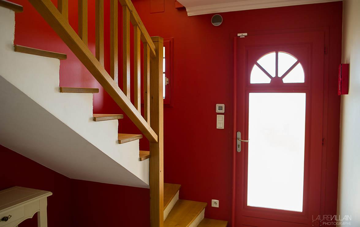 Graines de couleurs - Réalisation entée et escalier - 1