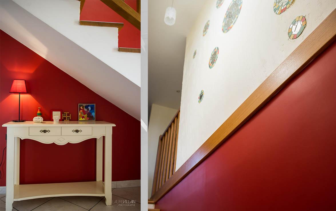 Graines de couleurs - Réalisation entée et escalier - 4