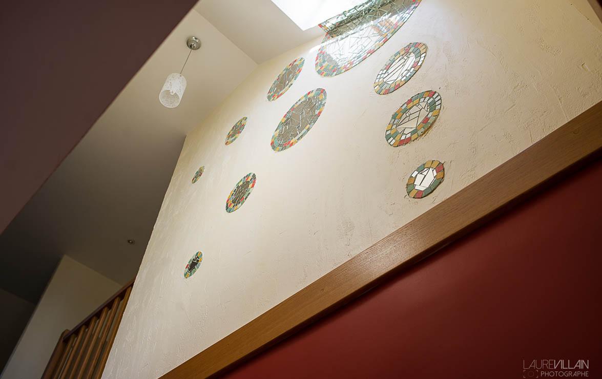Graines de couleurs - Réalisation entée et escalier - 5